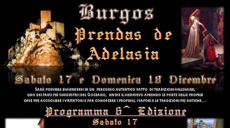 Prendas de Adelasia – Burgos – 17 e 18 Dicembre 2016