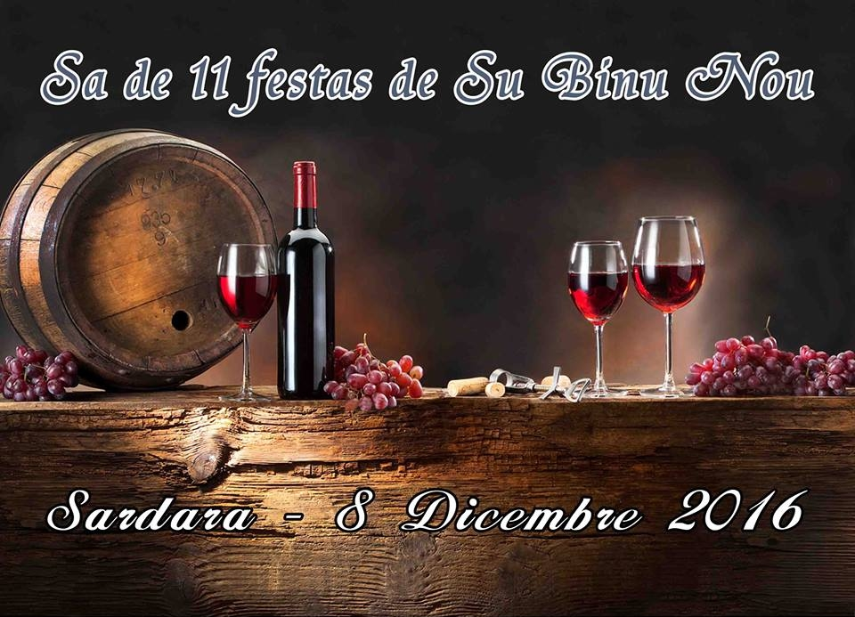 XI Festa de su Binu Nou – Sardara – 8 Dicembre 2016
