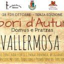 3° Edizione – Sapori D'Autunno – Vallermosa 28-29 Ottobre 2017