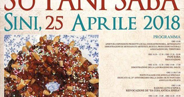 XXV Sagra de Su Pani Saba – 25/04/18 – Sini (OR)