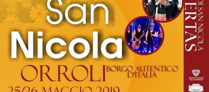 Festa di San Nicola – Orroli – 1-2 Giugno 2019