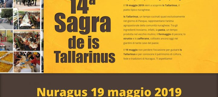 14° Sagra de is Tallarinus – Nuragus – 19 Maggio 2019